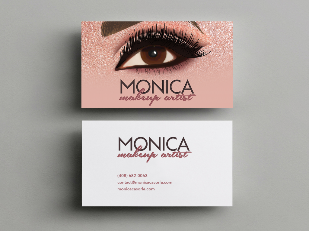 Makeup Business Card – Monica Casorla